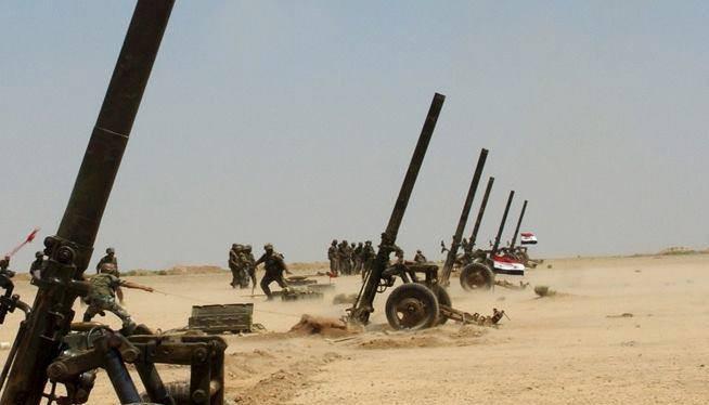 Dù lợi dụng thời tiết xấu, IS vẫn tiếp tục bị đánh bại ở Deir Ezzor