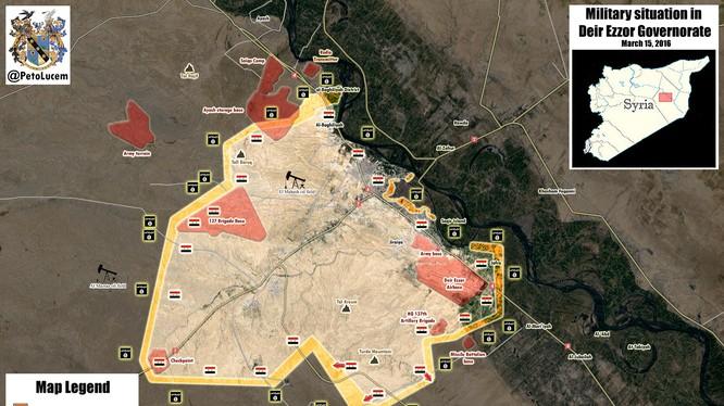 Cuộc chiến giành Deir Ezzor, quân đội Syria bất ngờ chiếm ưu thế tấn công