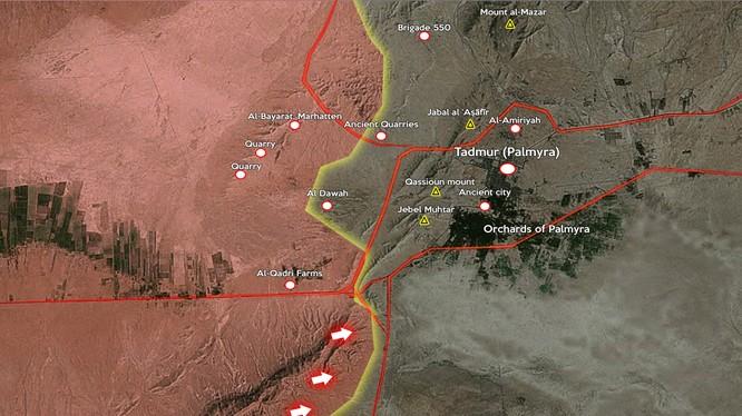 Lực lượng đặc biệt tinh nhuệ Tigers giành một cao điểm trên vùng núi Hayyal