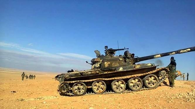 Quân đội Syria đánh bại cuộc tấn công của IS trên miền Đông Nam Homs
