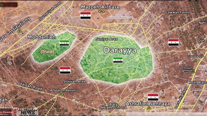 Trận chiến gian nan giành lại vùng ngoại ô Darayya, Damascus