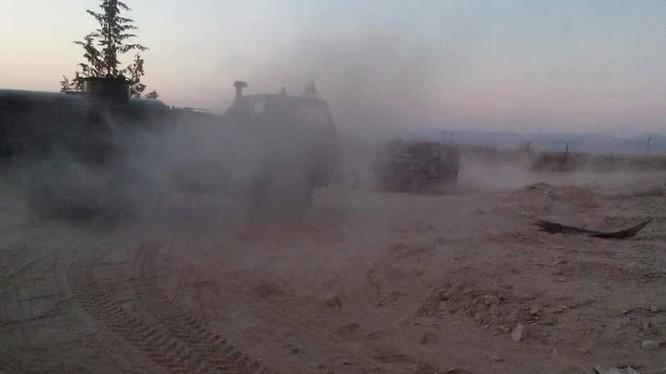 Lực lượng Tigers và đồng minh gia tăng cường độ tấn công ở Palmyra