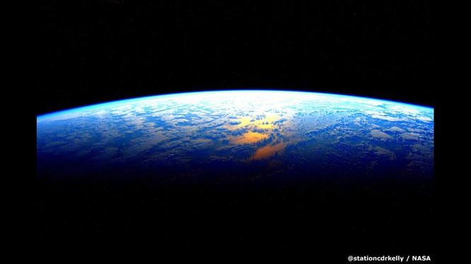 Những bức ảnh kỳ thú của Trái đất từ trạm không gian ISS