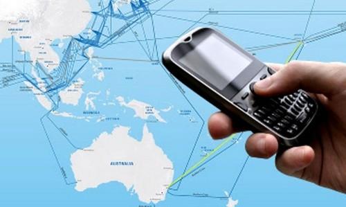 Giảm cước kết nối dịch vụ điện thoại quốc tế chiều về