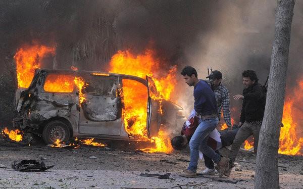 Đánh bom khủng bố khu vực người Kurd ở thành phố Qamishli thuộc Syria