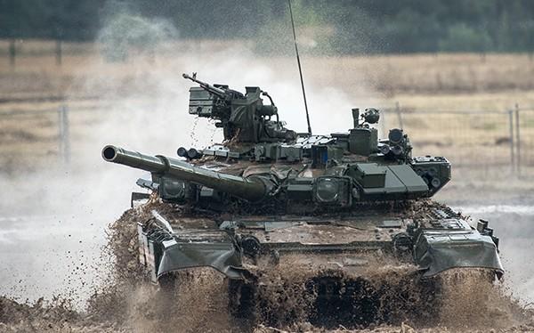 T-90 trúng đạn TOW-2A, hư hỏng ở mức độ tối thiểu