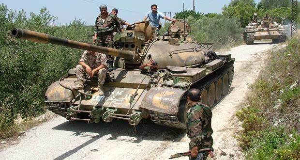 Lữ đoàn dù 104 Vệ binh Cộng hòa tấn công theo quốc lộ Ezzor-Mayadeen Syria
