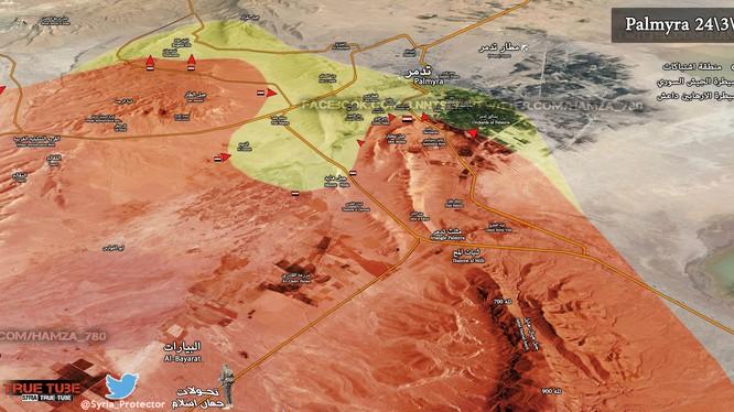 Trận chiến Palmyra tiếp tục tăng nhiệt khi quân đội Syria mở đợt tấn công mới