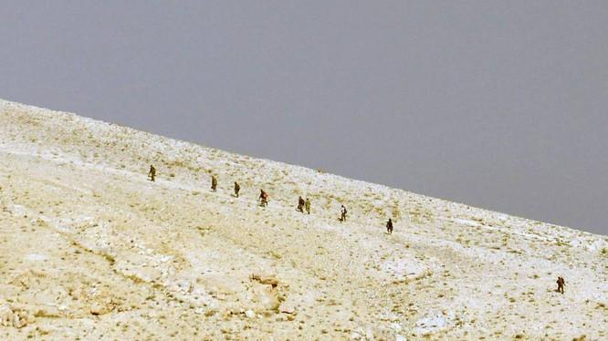 Lực lượng Tigers giành được núi Tal SyriaTel, Tây Palmyra (video)