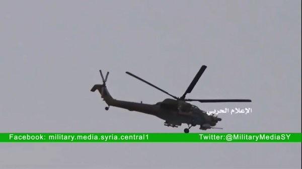Không quân Nga tiếp tục không kích IS trên sa mạc tỉnh Homs