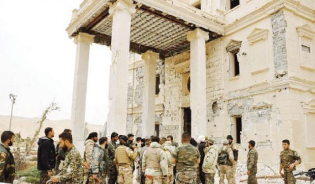 Chùm video chiến dịch giải phóng thành phố Palmyra