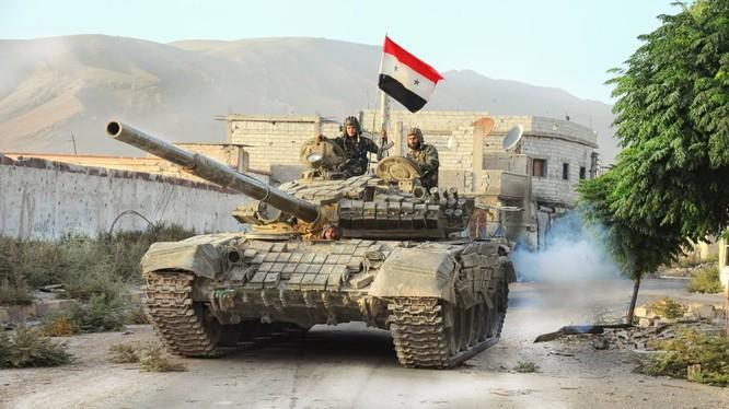 Quân đội Syria phá hủy một đường hầm khủng của Al-Nusra
