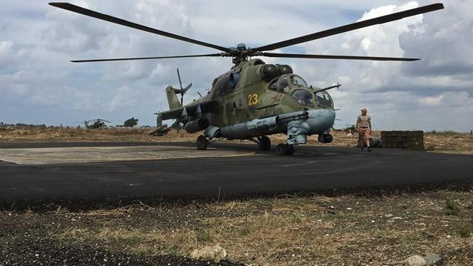 Video: Mi-24 Cá sấu bay và Mi-28 Thợ săn đêm quần nát chiến trường Palmyra