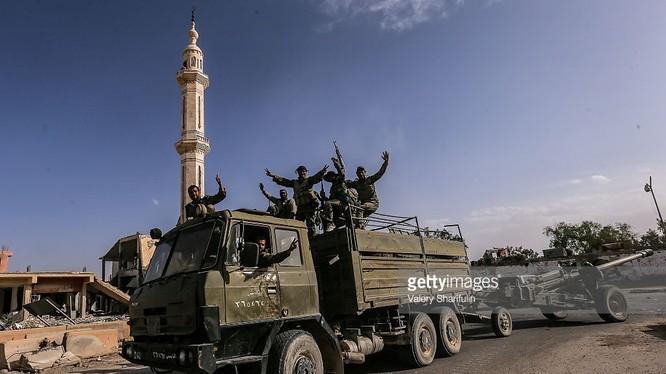 Lực lượng Tigers mở chiến dịch phá vây Deir Ezzzor