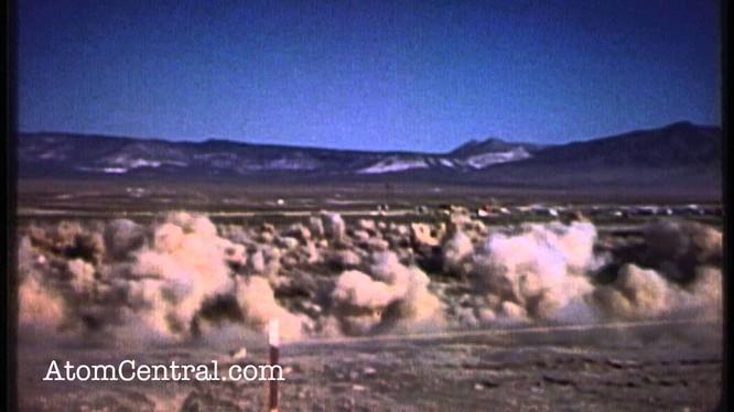 Uy lực kinh hoàng vụ thử hạt nhân dưới lòng đất