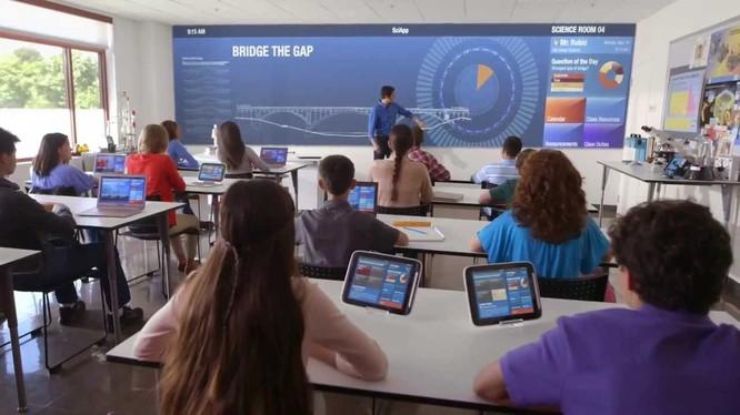 Công nghệ IT trong phương pháp giảng day trực quan
