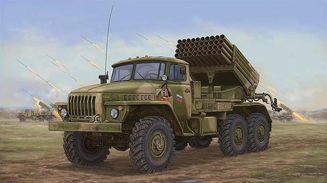 """""""Bão lửa"""" Kachiusa Việt Nam và các loại pháo phản lực"""