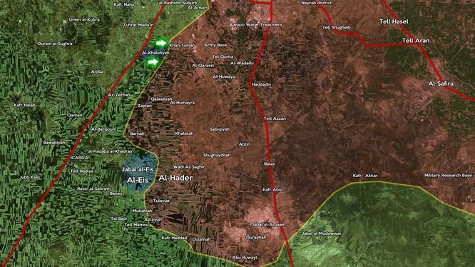 Lực lượng Hồi giáo cực đoan chiếm al-Khalidyah và đánh rộng ra phía nam Aleppo