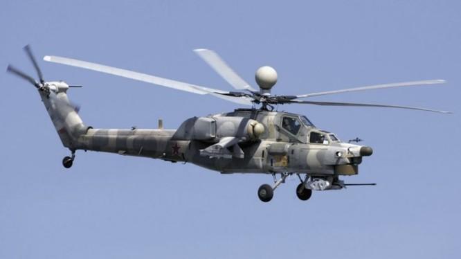 Sốc: Trực thăng chiến đấu Nga rơi ở Syria, hai phi công thiệt mạng