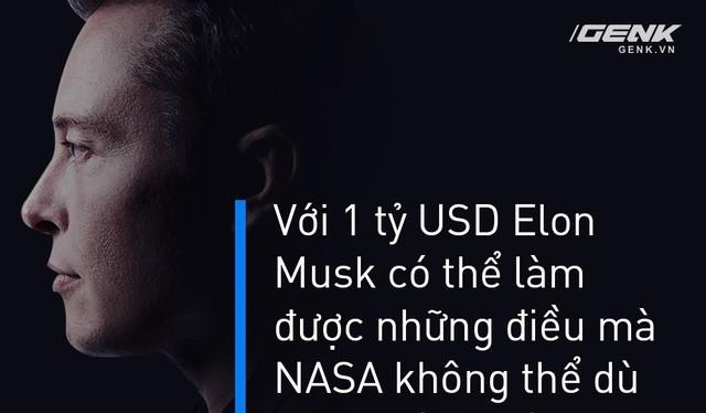 Bỏ 1 tỷ USD, Elon Musk làm được những điều NASA mất 27 tỷ USD cũng không thể làm nổi