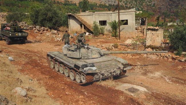 Quân đội Syria tấn công càn quét xung quanh sân bay quân sự Dumayr