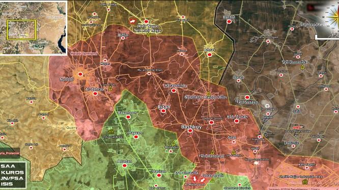 Quân đội Syria bắt đầu cuộc tấn công lực lượng Hồi giáo cực đoan ở thành phố Aleppo