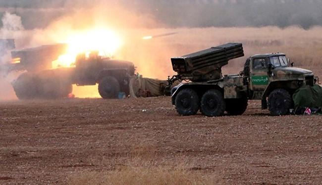 Quân đội Syria phản công trên vùng nông thôn hướng Đông Nam Aleppo