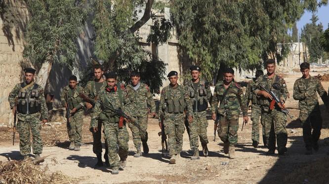 Quân đội và không quân Syria nỗ lực tấn công tiêu diệt sinh lực, phá hủy trang bị của khủng bố