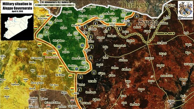 Liên minh quân đội Syria - YPG có thể giải quyết chiến trường thành phố Aleppo