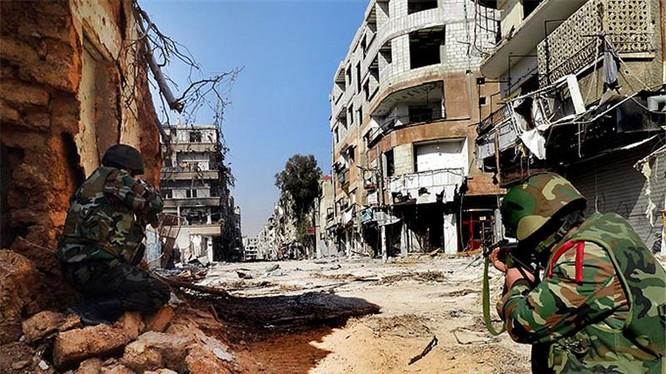 Quân đội Syria đẩy lùi cuộc tấn công tiếp theo của IS phía đông Damascus