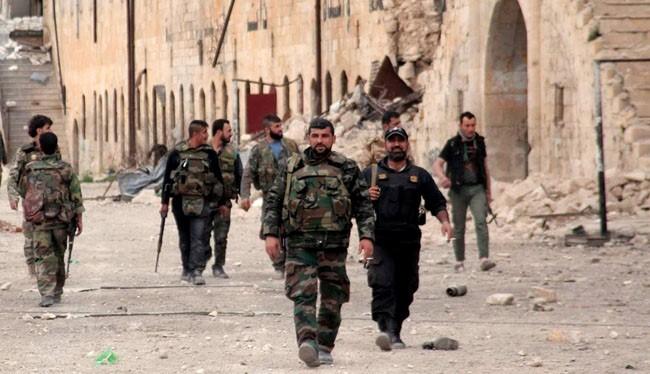 Quân đội Syria và lực lượng nổi dậy kết thúc nhóm IS ở Dumayr. Damascus