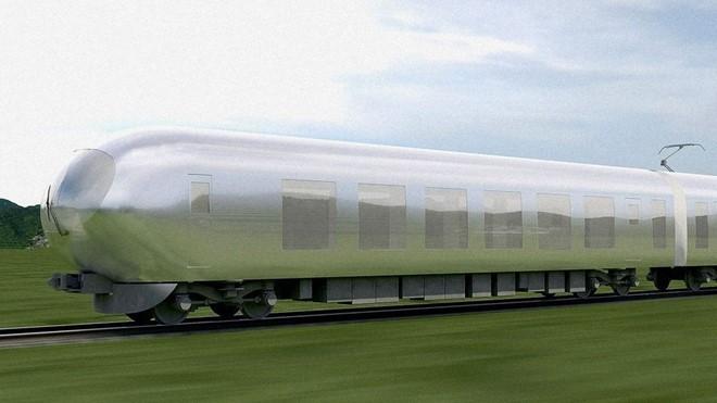 Xe lửa tàng hình Nhật Bản dự kiến ra mắt năm 2018