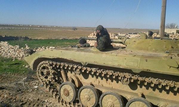 Hai trung đoàn Tigers điều chuyển về bình nguyên Al-Ghab