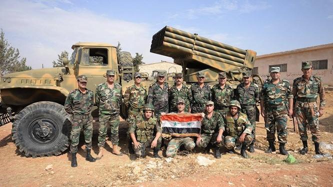 Quân đội Syria bẻ gãy cuộc tấn công của lực lượng cực đoan ở Latakia