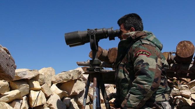 Quân đội Syria tấn công vành đai phòng thủ Kabani