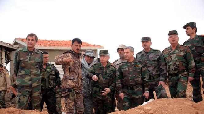 Quân đội Syria lại thay đổi hướng tấn công chính nhằm cứu nguy Deir Ezzor?