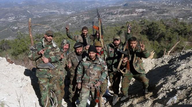 Quân đội Syria tấn công các cao điểm xung quanh Kabani, đông bắc Latakia