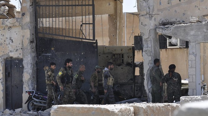 IS tấn công khủng bố lực lượng dân quân người Kurd, 15 binh sĩ thiệt mạng