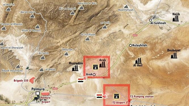 Lực lượng Tigers chuẩn bị tiến công về hướng Deir Ezzor?