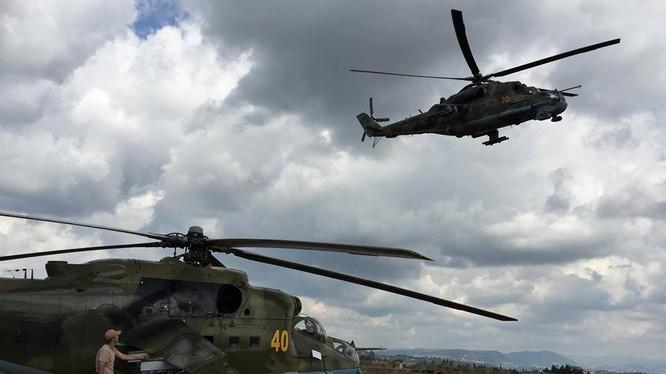 Không quân Nga nối lại chiến dịch không kích ở tỉnh Latakia