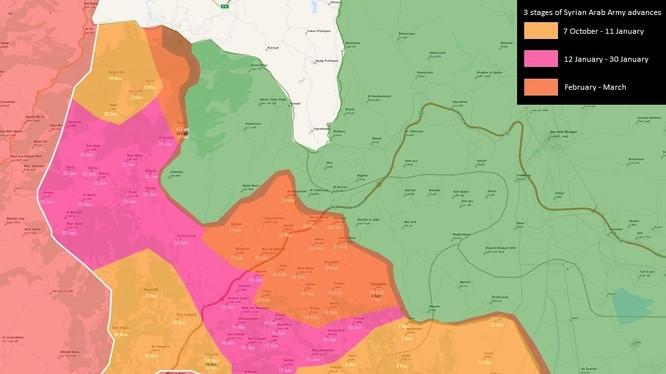 Quân đội Syria giành được hơn 50 làng sau 6 tháng tấn công ở Latakia