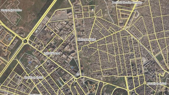 Quân đội Syria tấn công trong nội thành thành phố Aleppo