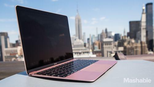 Chiếc Macbook mới ra mắt của Apple.
