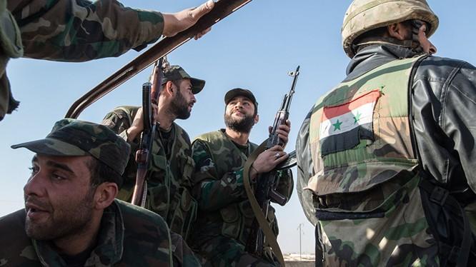 Quân đội Syria chiếm Bala Al-Kadhima Đông Ghouta, tấn công thị trấn dầu mỏ Arak tỉnh Homs