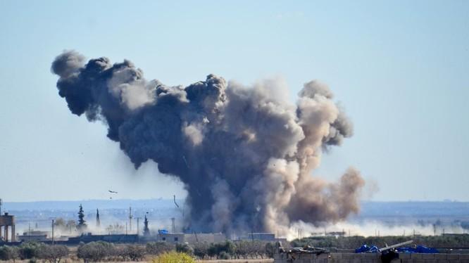Không quân Nga không kích Al Qaeda Syria ở Aleppo