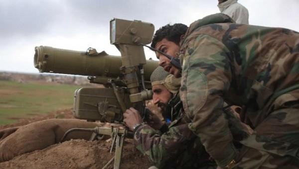 Video quân đội Syria tập kích hỏa lực dữ dội vào Al Nusra ở Kabani, Latakia
