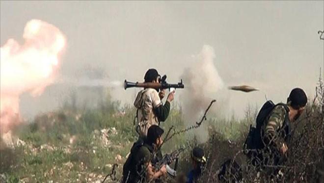 Lực lượng tình nguyện Palestine Liwa al-Quds chiến đấu ở Bắc Aleppo