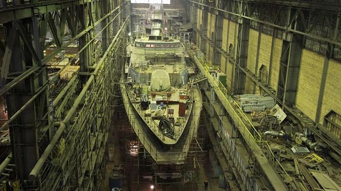 Tàu tuần biên mới nhất của Nga sẽ chạy bằng động cơ Nga