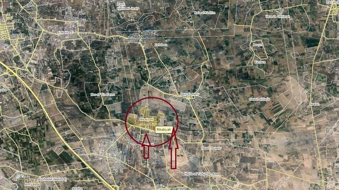 Quân đội Syria tấn công làng Rukabiyah thuộc Đông Ghouta