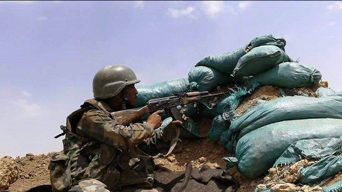 Quân đội Syria diệt 34 tay súng IS tại Deir Ezzor